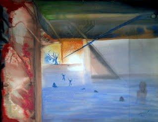 Aquatic Dream, aquarelle